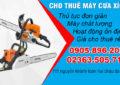 Cho thuê máy cưa cây tại Đà Nằng