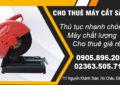 Cho thuê máy cắt sắt tại Đà Nẵng